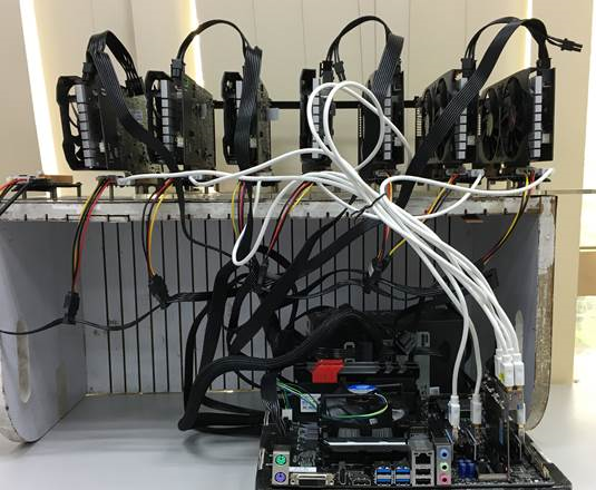 BIOSTAR Crypto Mining Card Enables Up To 8 GPU Miners