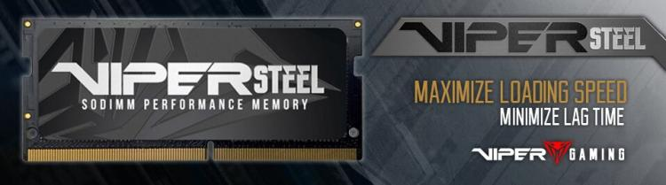 Viper Gaming Announce Viper Steel Series Ddr4 Sodimm Memory