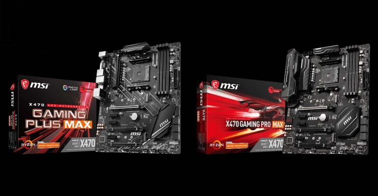 MSI Releases AM4 300- and 400-Series MAX Motherboards with Support