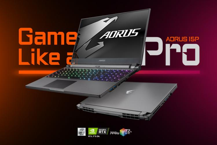 Gigabyte S Aorus 15p Ultra Thin Professional Gaming Laptops Unveiled